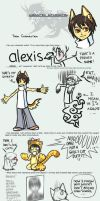 Alexis Character Art Meme by Tiamate