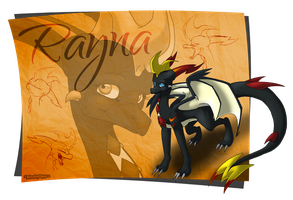 Dragon OC Rayna by BlackySpyro