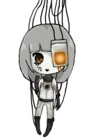 GLaDOS by QueenJellybeany