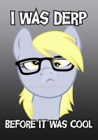 I was derp before it was cool by Kuzcorish