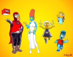 X Simpsons by Gulliver63