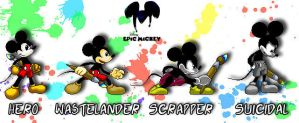 Epic Mickey Sprites by GBlastMan