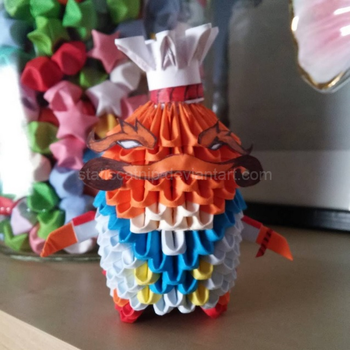 3D Origami: Masterchef Tahm Kench (LoL) by inyeon
