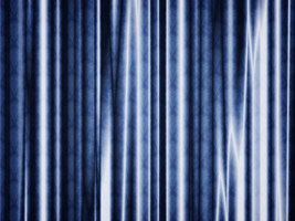 Night Blue Curtain by Lucifer666mantus