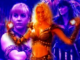 Xena and Gabby Vs. Callisto by ihavemanyskills
