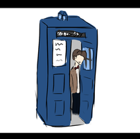 TARDIS aka I got bored by BeIIPaws
