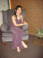 Me in my Senior Prom dress at June 14, 2012 pic 1 by Magic-Kristina-KW
