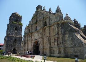 Church of San Agustin in Paoay by DavidKrigbaum