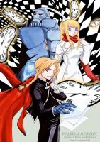 Edward Elric and Clocks by mokona418