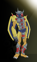 WarGreymon by digiomnimon