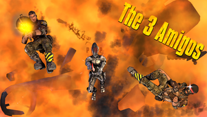 The 3 Amigos (2D Title Version) by GeniusGT