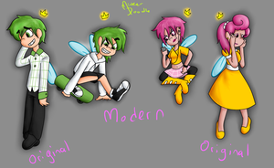 Fairly Odd Teens Revamp by Minkerdoodle