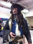 Anime Boston 2012- Tall Jack Sparrow by SweeneyT-DemonBarber