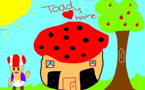 toad loves home by 101horsegirl