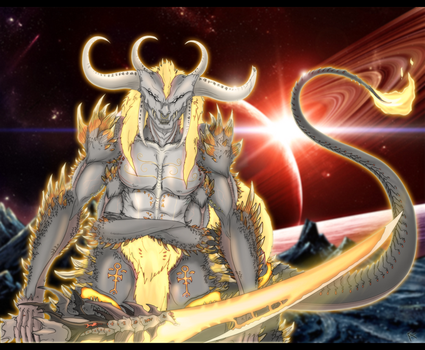 Surtr by Arrancarfighter