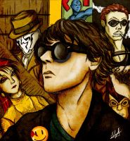 Gerard Way Watchmen version (Art Is Smart) by Eilyn-Chan