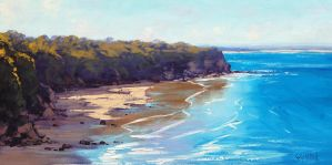 Sunny Beach by artsaus