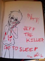 Jeff the killer by waffleluvah