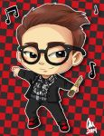 Chibi Onew Commission by chaixing