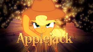 Applejack Wallpaper by TygerxL