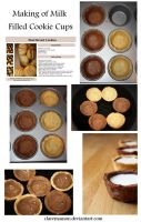 Milk Filled Cookie Cups Tut by claremanson