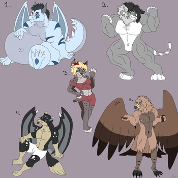 More adopts by dragonrace