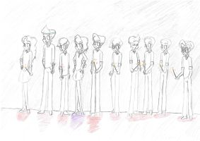 Schuester's Army by Alli2345