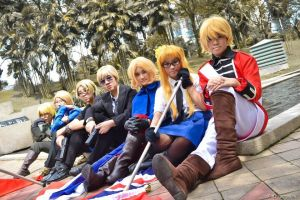 Hetalia's Epic Blondes by akatsukicraze