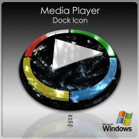 Media Player Dock Icon by AlperEsin