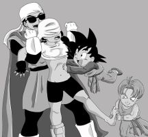 Another DBZ Tickle by KoochieKoochieToons