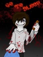 Jeff The Killer Digital by MikaCapde