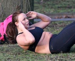 Chanelle Hayes sit-up by montyisfat