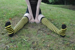 Bumble Bee Stripes by Foxy-Feet