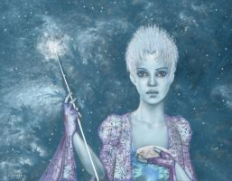 Snow Queen by Hagge