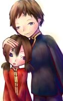 Angel and Alejandro by saTen0w0