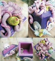 octupus box by Ticaboo