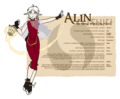 Character Guide - Alin by foxlee
