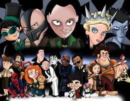 Movies of 2012:ASSEMBLE!! by xeternalflamebryx