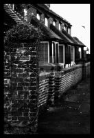 Old Cottages. by purgatoryboy