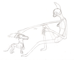 SCP-513-1 and SCP-513 WIP by LPS100