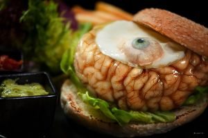 Brain Burger by salis2006