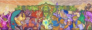 hearthstone title art by breathing2004
