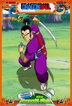 Dragon Ball - Murasaki Ninja by DBCProject