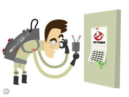 Dr. Egon Spengler Revisited by Jonnyetc