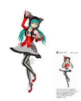 Pieretta Miku Pose DL by sincerus113