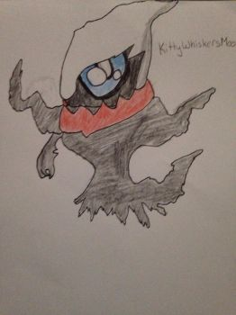 Chibi Darkrai by KittyWhiskersMeow