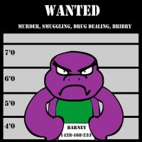 Barney (Dashiexp version) by LuxiotheEchidna