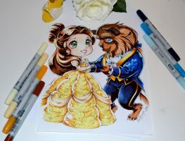 Beauty and the Beast by Lighane