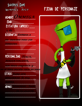 Ficha SG -- Ommega by micuss