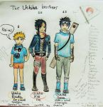 The Uchiha Brothers by KaizenKitty